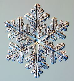 Snowflake and Snow Crystal Photographs Snowflake Photos, Snowflake Designs, Winter Wonder, Winter Fun, How To Make Snowflakes, Diy Snowflakes, Snowflake Snowflake, Snowflake Photography, Snow Flake Tattoo