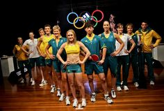 Australia's Olympic uniforms were unveiled.