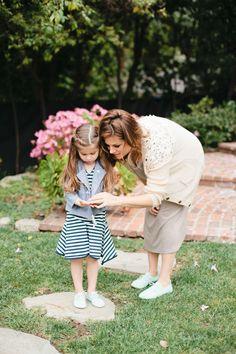 Tiffani Thiessen and daughter Harper for Zooey Magazine. #zooeymagazine
