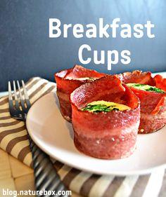 Turkey Bacon Breakfast Cups