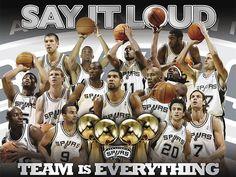 San Antonio Spurs   My NBA team