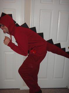 DIY Dinosaur Costume!