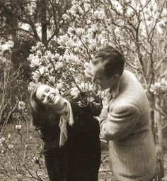 Greta Garbo with friend, nutritionist/author Gayelord Hauser