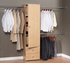 Are Your Closets Naked? Fix That With One Of These Inexpensive Closet…