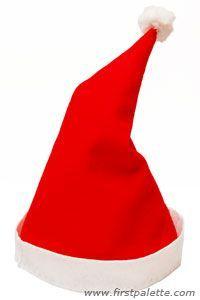 Nikolaus Mütze aus Filz nähen