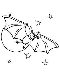 Free Use Bat Lineart by PrePAWSterous Vampires Bats