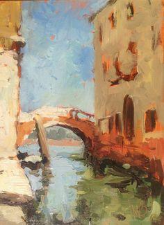 Maciej Baran, Rio della Panada / Calle Larga dei Boteri, 18 x 24 cm, Wenecja 2013