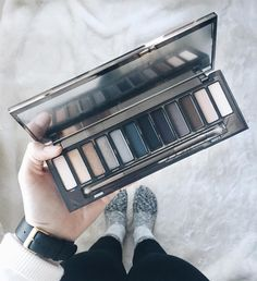 I stocked up on a ton of beauty products this year for Christmas! What was your favourite present this holiday season? #urbandecaynaked #bblogger #nakedpallet