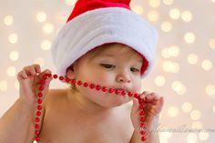 Plain Vanilla Mom: Holiday Lights Photo Backdrop Tutorial