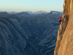 Half Dome, Yosemite National Park  Photographer- Jimmy Chin