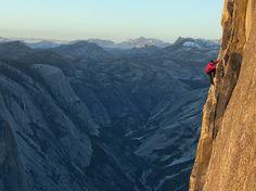 Half Dome, Yosemite National Park. (Jimmy Chin/ National Geographic)