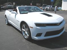 NEW 2014 Chevy Camaro SS Convertible . . .