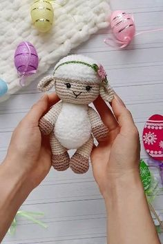 Easy to make and fast crochet pattern amigurumi farm animals