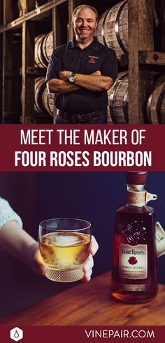 Making one of the world's great bourbons sounds like a dream job. And it is. But for Brent Elliott, assuming the role of Four Roses Master Distiller in 2015 wasn't exactly a walk in the clouds.