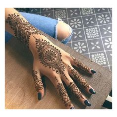 50+ Henna Tattoos Designs Ideas (Images For Your Inspiration) ❤ liked on Polyvore featuring accessories and body art