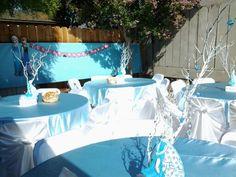 Fiesta en jardin frozen