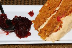 Delectably Different: Vegan Gluten-Free Peanut Butter & Jelly Cake...Cakewhich!