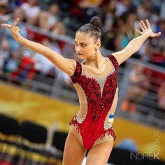 Black Leotard, Rhythmic Gymnastics Leotards, Sport, World Championship, Cool Costumes, Figure Skating, Sexy Body, Ukraine, Olympics