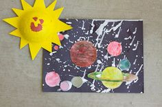 Sun, stars and planets craft