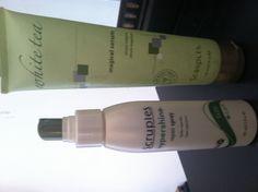 Scruples hypershine (and it is!) & magical serum  ..its like hand lotion for ur hair!