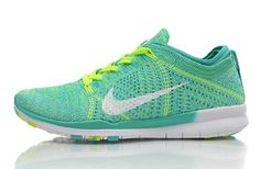 2daa423bf47 Nike Free 5.0 Tr Womens Wmns Flyknit Shoes Green White Light New Hot