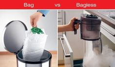 Tired of cleaning up after your vacuum? Shouldn't it clean up after you? That's right....the bagged vacuum is making a huge comeback. Many people have found that most bagless vacuums throw dust throughout the house and require more maintenance than a bagged vacuum. If you have allergies or are just looking for the cleanest home possible come see us. The Vacuum Store, Winchester Va.