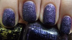 OPI Liquid Sand - Can't Let Go  These polishes photograph horribly but in person they are AMAZING!   Nail Polish = Nail Art!