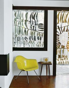 #Eames #yellow.