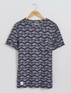 Zigzag Textured Tee | Native Youth | Native Youth