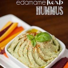 Edamame Herb Hummus