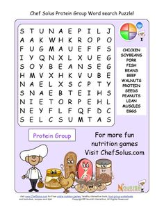Older students will enjoy our more challenging word search puzzles. These word search puzzles focus on the food groups, exercise and their health benefits. Each word search puzzle has 13 words for children to find.