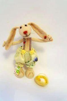 весенний зайка. мастер-класс Crochet Rabbit, Crochet Toys, Tinkerbell, Free Pattern, Bunny, Teddy Bear, Disney Princess, Disney Characters, Patterns