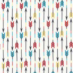 Arrows in White Organic