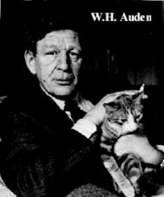 w h auden Men With Cats, Cat Run, Secrets Of The Universe, Cat People, Big Men, Famous People, Poetry, Authors, Writers