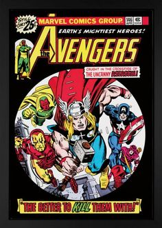 The Avengers #146, signed by Stan Lee #Marvel #comics