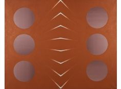 Juhana Blomstedt: Sommitelma,  1971, öljy, 130x162 cm - Hagelstam