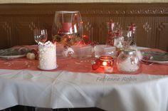 CHEZ FABIENNE :Table de Noël