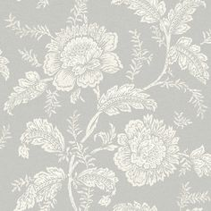 Cabaletta Grey by Arthouse - Grey : Wallpaper Direct Blush Wallpaper, Flower Wallpaper, Dining Room Feature Wall, Boutique Wallpaper, Cherry Blossom Wallpaper, Floral Pattern Wallpaper, Simple Wallpapers, Fashion Room, Home Art