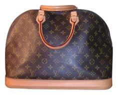 5cde2083e2ca Louis Vuitton Alma Monogram Mm Brown Canvas Tote - Tradesy Louis Vuitton  Alma