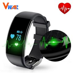 Geek Original Stock Bluetooth Smartwatch Smart Watch Wristband Bracelet Band Heart Rate Smartband Activity Tracker Fitness for IOS Android(Color:Black white. Tracker Fitness, Fitness Tracker Bracelet, Waterproof Fitness Tracker, Fitness Activity Tracker, Fitness Activities, Fitness Wristband, Smartwatch Bluetooth, Bluetooth Watch, Bluetooth Gadgets