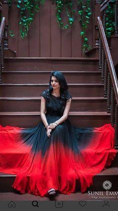 Buy Attractive georgette multicolor anarkali salwar suit on latest Salwar Suit Robe Anarkali, Saree Dress, Lehenga, Gaun Dress, Kurti Designs Party Wear, Kurta Designs, Indian Designer Outfits, Designer Gowns, Pretty Dresses
