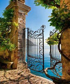 Villa del Balbianello, Lago Como, Italia.