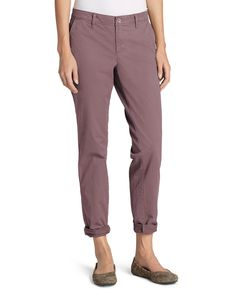 149d095781ab Women's Legend Wash Stretch Pants - Boyfriend | Eddie Bauer Cotton Spandex,  Spandex Fabric,