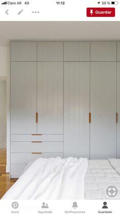 Built In Cupboards Bedroom, Bedroom Built In Wardrobe, Bedroom Closet Design, Wardrobe Doors, Bedroom Wall, Master Bedroom, Wardrobe Door Designs, Built In Robes, Closet Layout