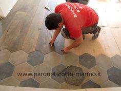 Recupero cementine antiche - Pavimenti a Roma