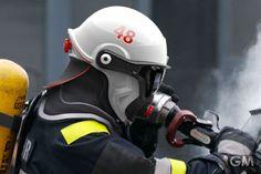 消防士の新しい命綱となるヘルメット C-Thru
