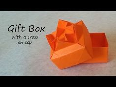 Origami Gift Box: Tutorial - YouTube