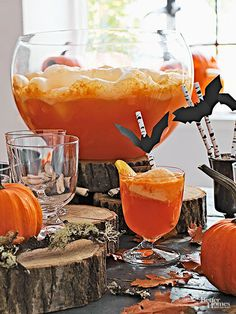 halloween orange sherbet punch halloween pinterest sherbet punch halloween parties and. Black Bedroom Furniture Sets. Home Design Ideas