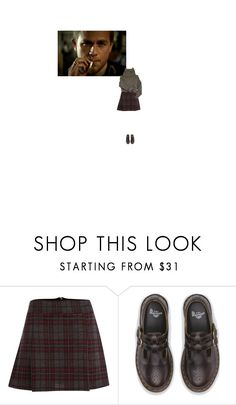 """""""my old man is a bad man"""" by burlesque25 ❤ liked on Polyvore featuring Therapy and Dr. Martens"""