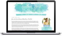 Portfolio - Bumble + Buzz Design (pretty blog design)